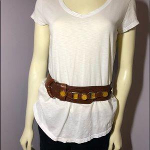 Accessories - Zibo Leather belt 📍EUC 📍
